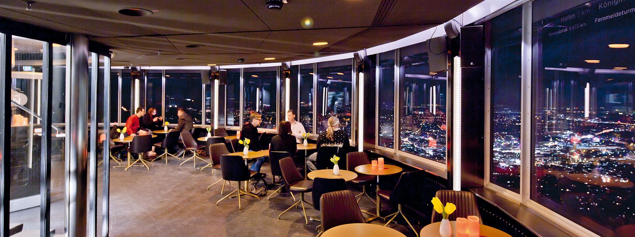 Speisekarte Panorama Cafe Fernsehturm